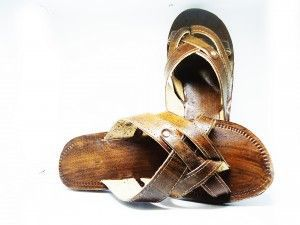 Kit 12 pares de chinelos atacado Zack Couro Sandália de couro Mod 09