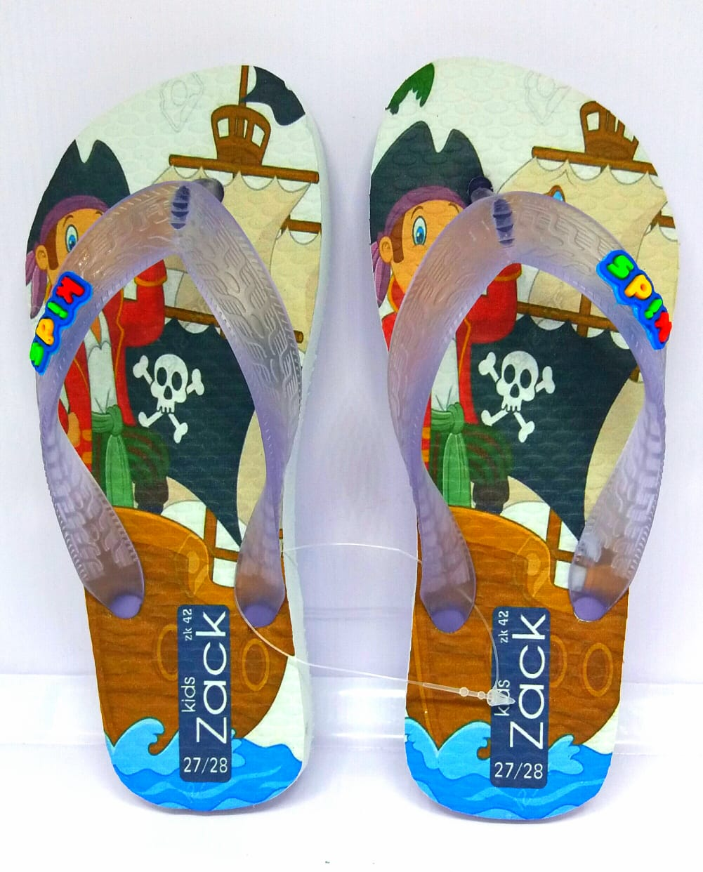 Kit 12 pares de chinelos atacado Zack Kids mod. 50