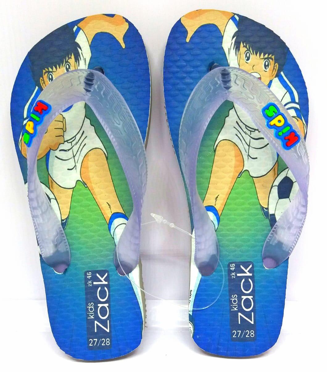 Kit 12 pares de chinelos atacado Zack Kids mod. 52