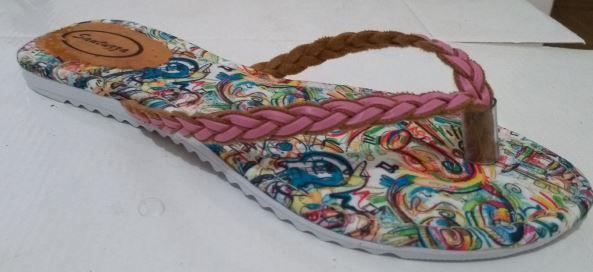 Sandálias rasteirinhas Arabbelas - Rasteirinha no atacado mod 08