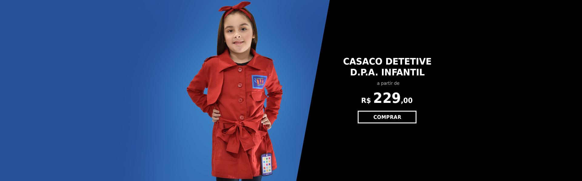 Casaco Detetive DPA Infantil