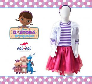 Fantasia Dra Brinquedos