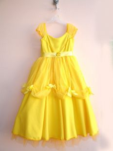 Fantasia Vestido Princesa Bela