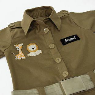 Macacão Safari