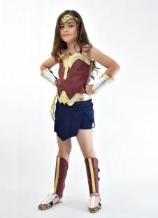 Mulher Maravilha Liga da Justiça + Escudo