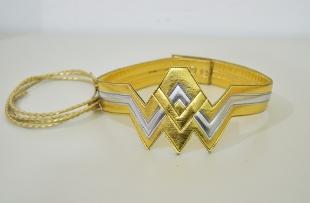 Mulher Maravilha Liga da Justiça - Tiara, Bracelete e Cinto