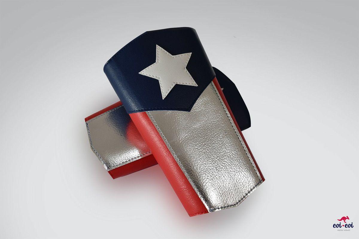 Braceletes Capitão America