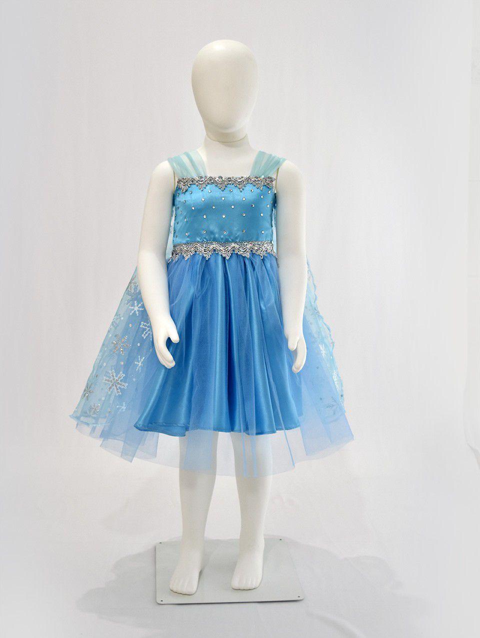 Vestido Elsa Frozen 2