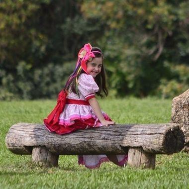 Vestido Princesa do Arraiá