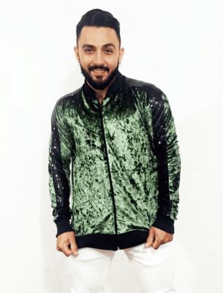 Jaqueta bomber verde