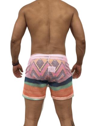 Saída de praia masculina (colorida)