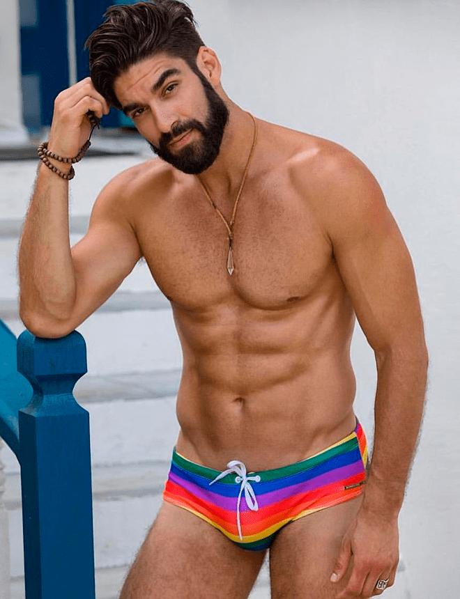 Sunga arco-iris