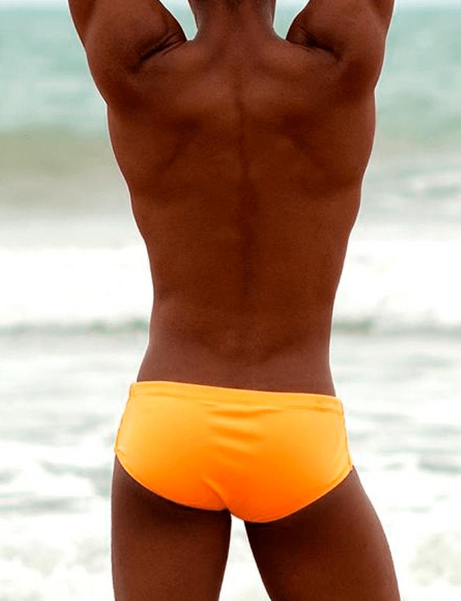 sunga slip laranja neon 2020
