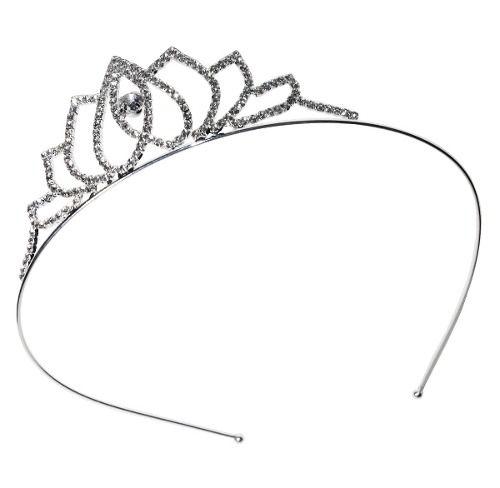 Tiara Coroa Para Princesa Debutante Noiva Strass Brilhante - Amo Tule ... 71dcb313097