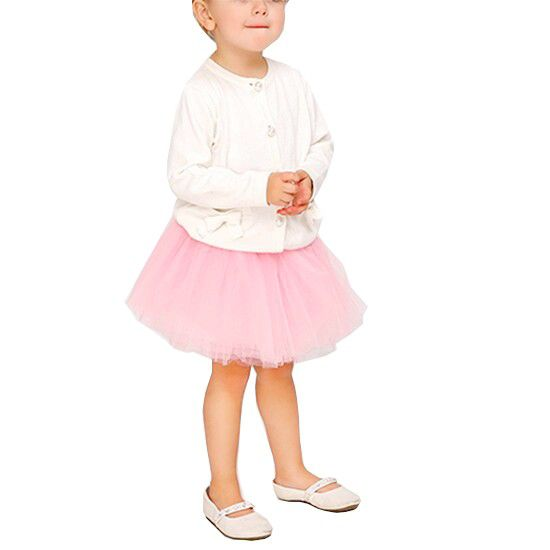 Saia De Tule Infantil Menina Curta Tutu Fantasia Bailarina