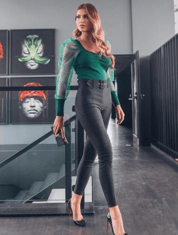 Calça Skinny Bengaline