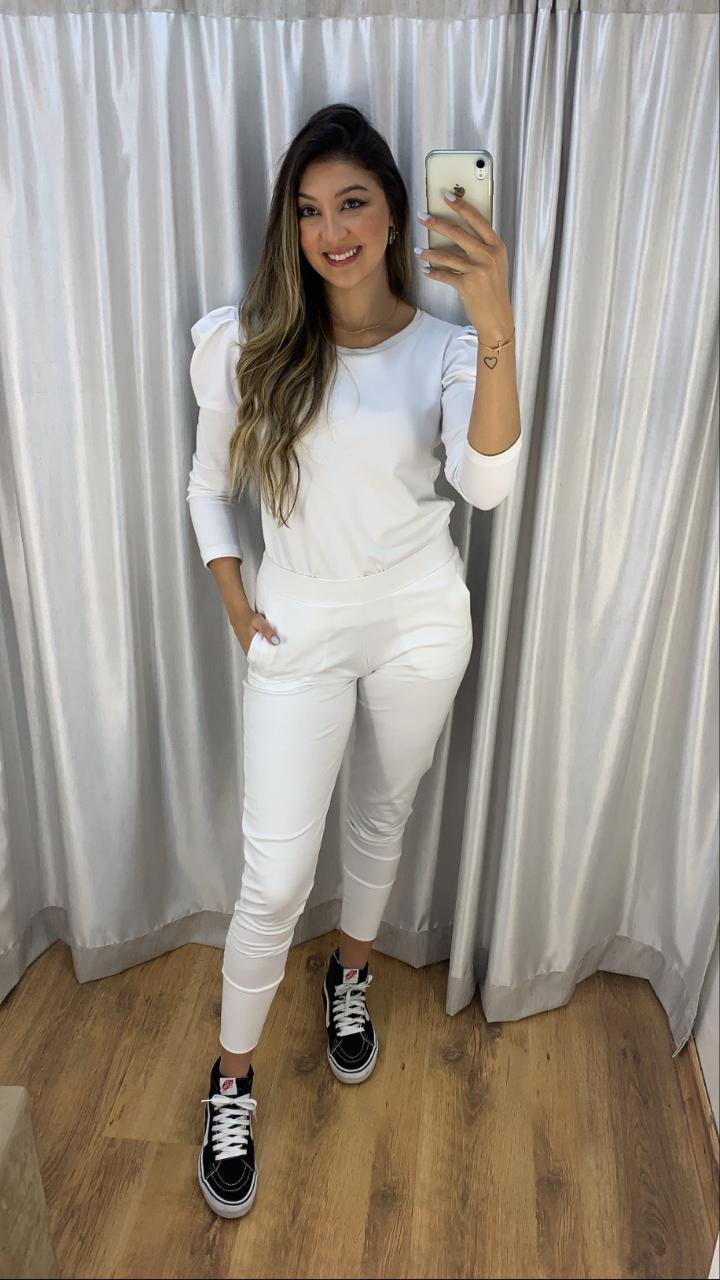Conjunto Confortável Branco