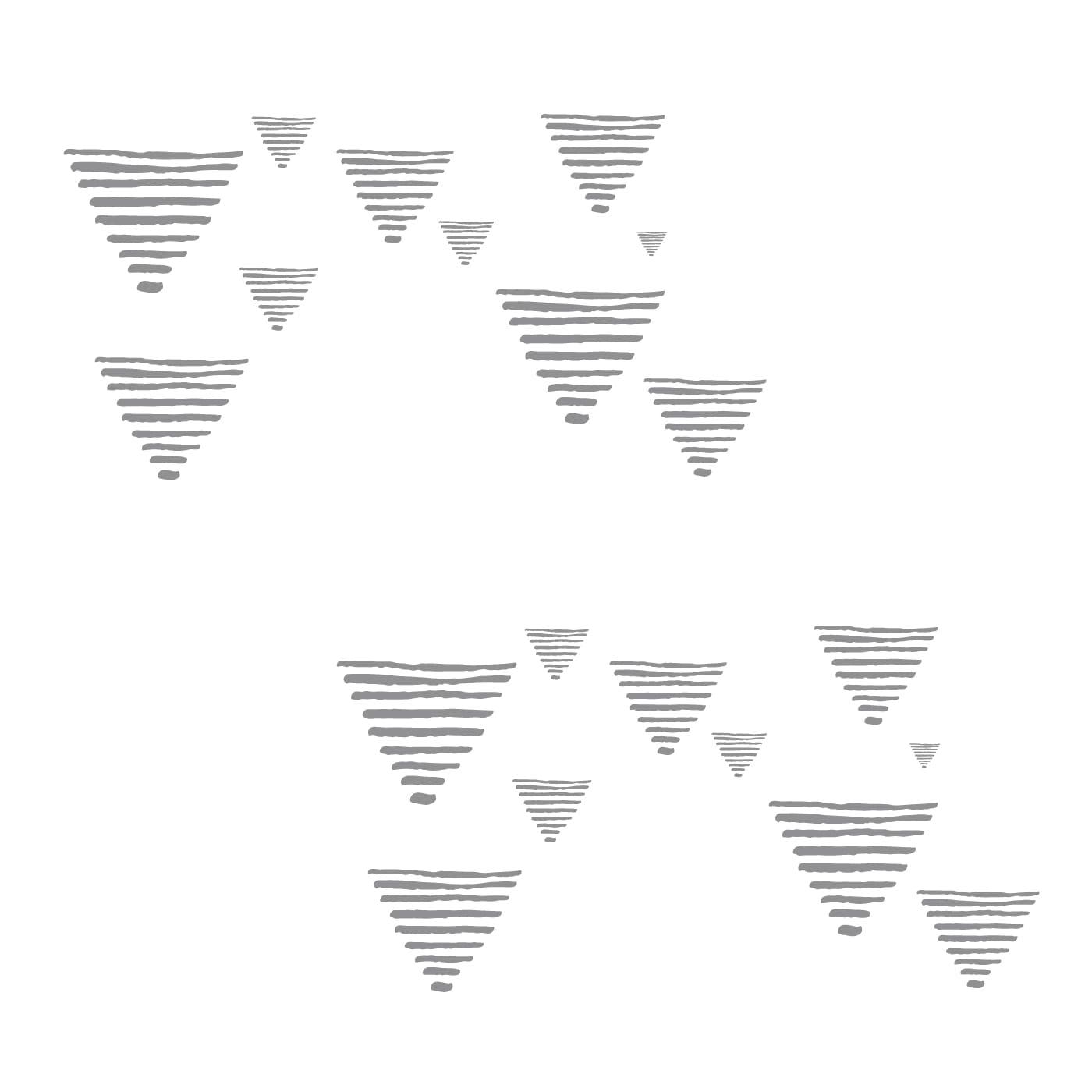 flufi uma camada de algodão: grafismo cinza. Kit com 2 unidades