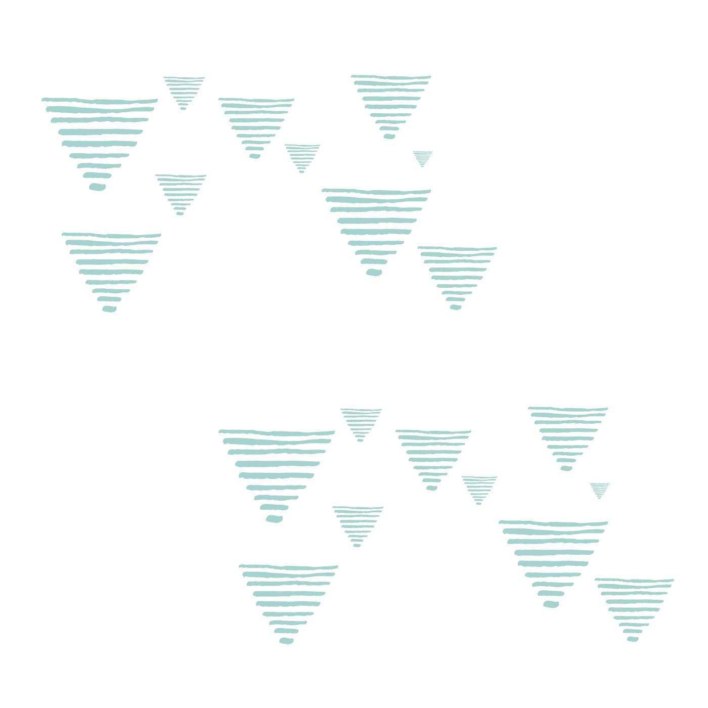 1 flufi + 1 flufi grafismo azul