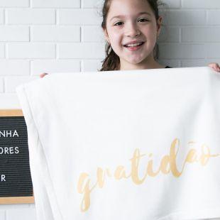 cobertor gratidão