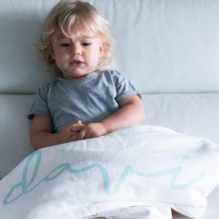 cobertor em estampa nome da criança - 12 opções de cores