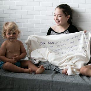 cobertor em estampa significado família - 14 opções de cores