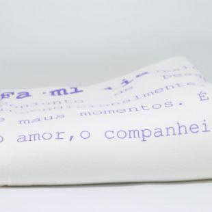 cobertor em estampa significado família - 12 opções de cores