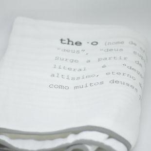 flufi duas camadas de algodão em estampa significado nome da criança - 12 opções de cores