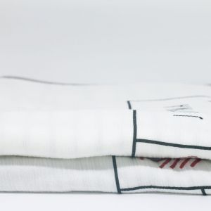 flufi duas camadas de algodão meu primeiro natal com nome da criança