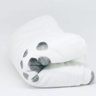 flufi quatro camadas de algodão digitais pezinho do pezinho do seu bebê