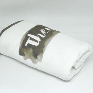 flufi quatro camadas de algodão bicho preguiça com nome da criança