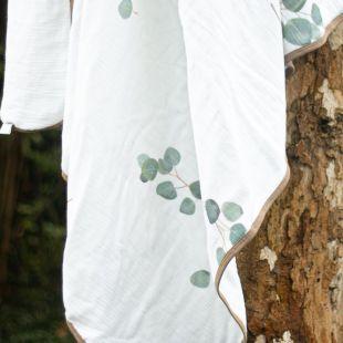 flufi quatro camadas de algodão em pintura eucaliptos