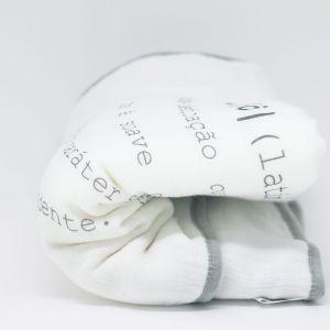 flufi quatro camadas de algodão em estampa significado amor - 12 opções de cores - com verso em linhas cinza