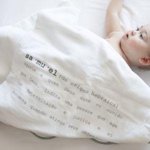 flufi significado nome quatro camadas de algodão