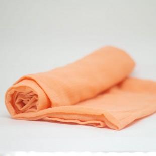 flufi uma camada de algodão em cor salmão