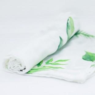 flufi uma camada de algodão folhas