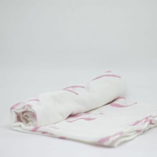 flufi uma camada de algodão traços rose