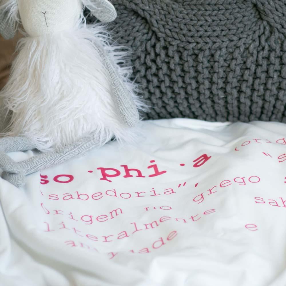 cobertor em estampa significado nome da criança - 14 opções de cores