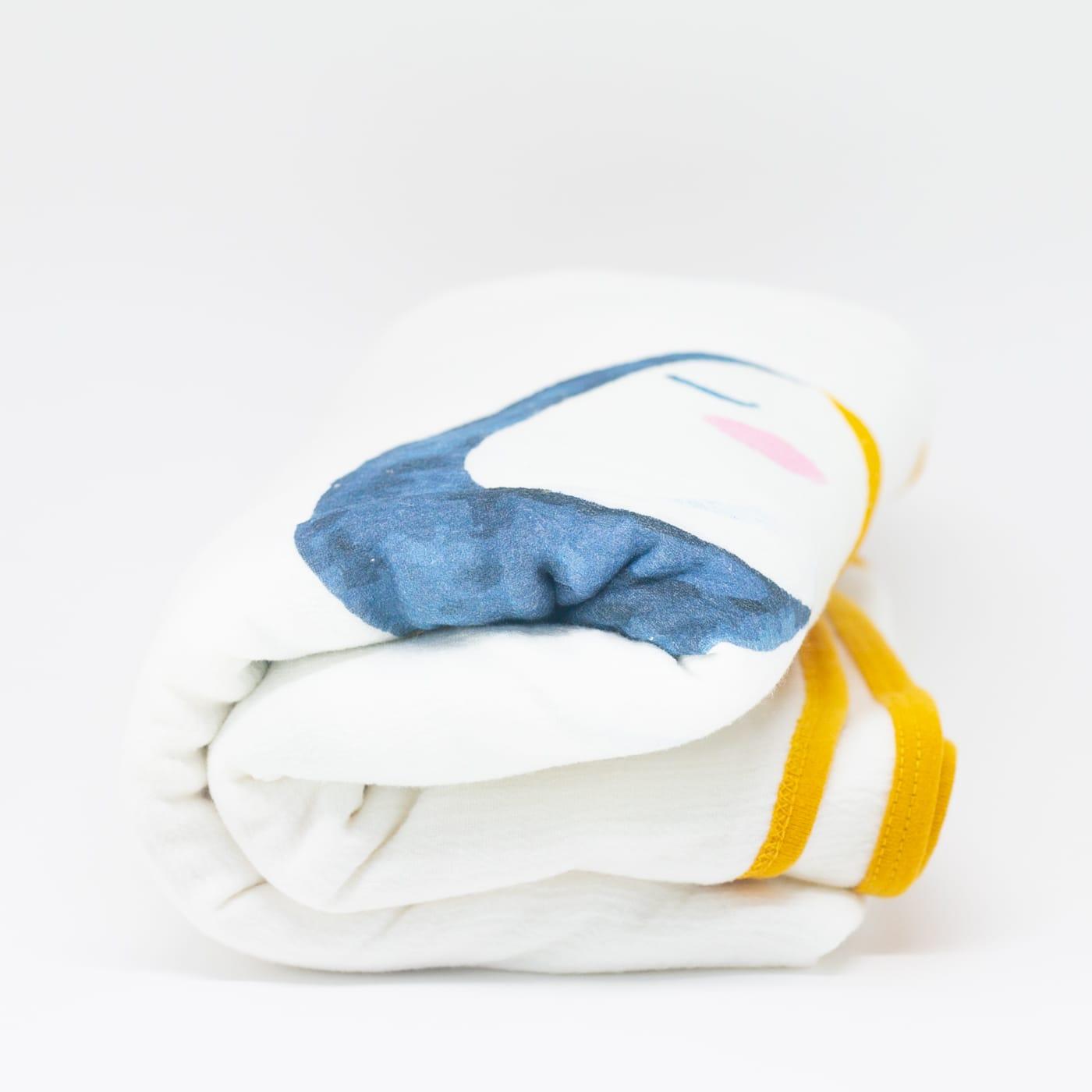 flufi quatro camadas de algodão bicho tucano com nome da criança