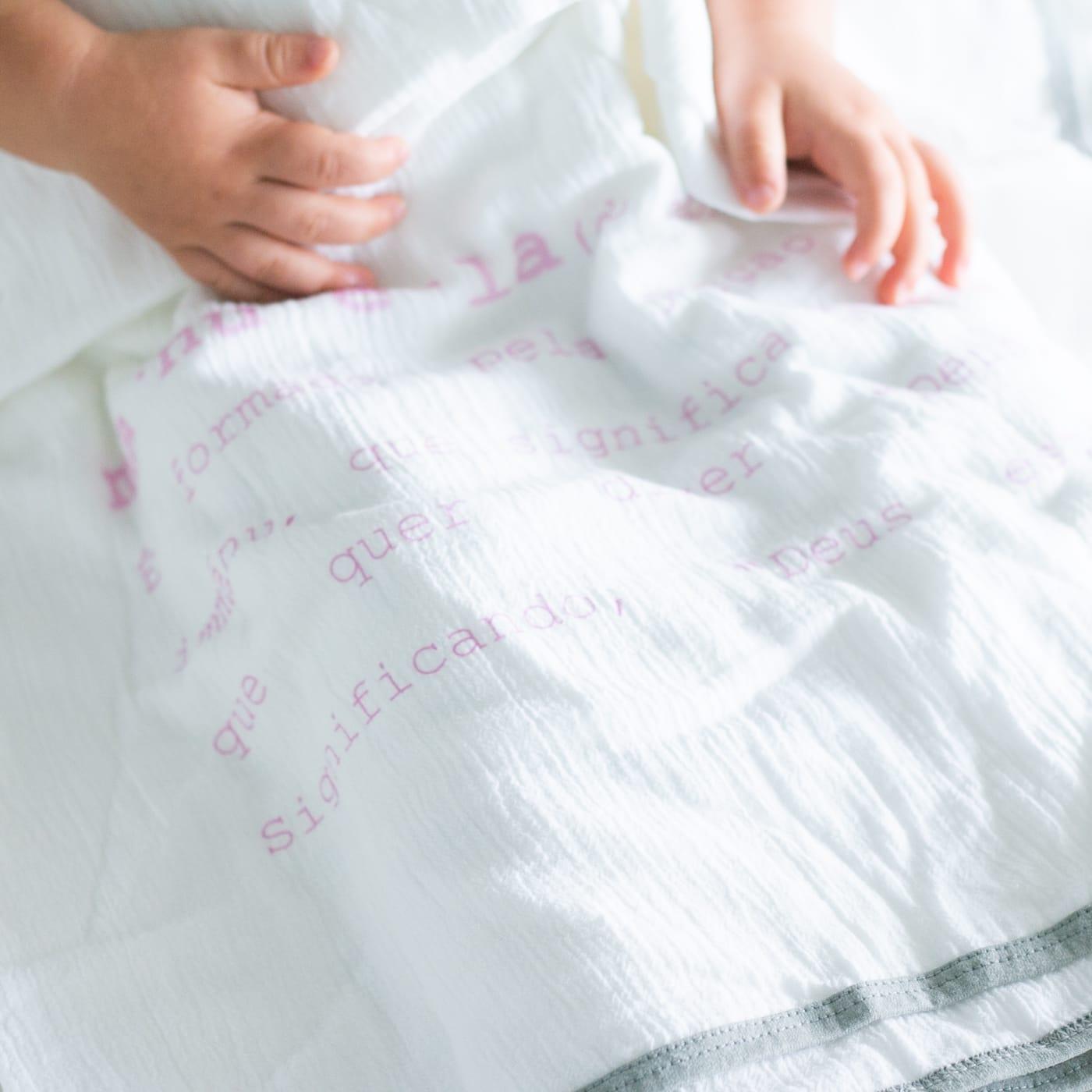 flufi duas camadas de algodão *significado nome da criança*