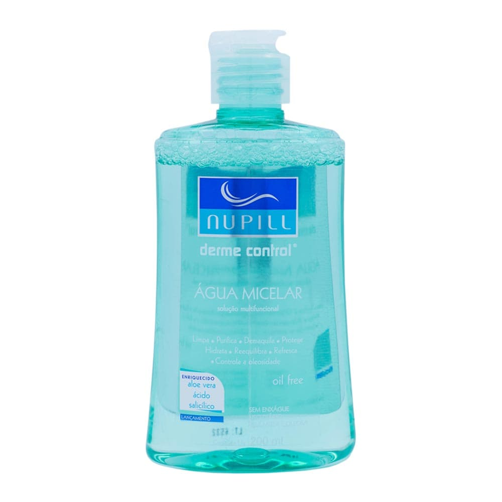 Água Micelar Nupill Dermo Control
