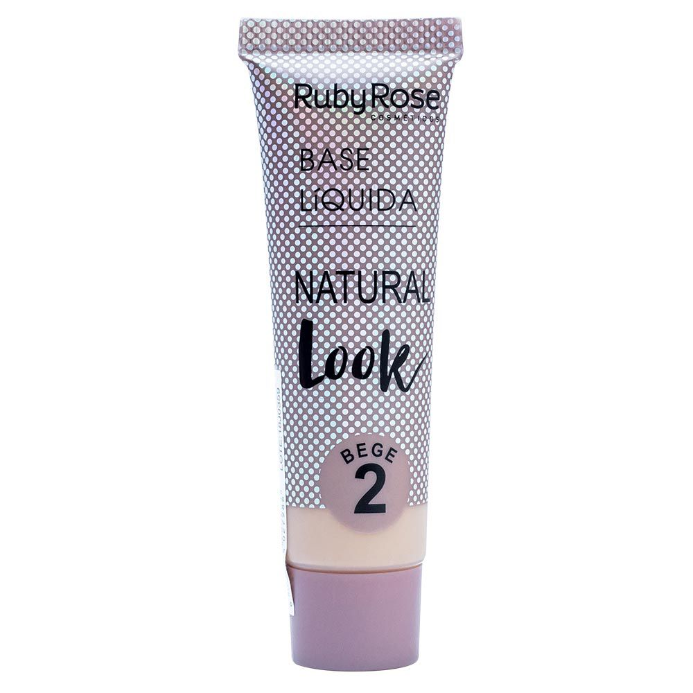 Base Líquida Ruby Rose Natural Look