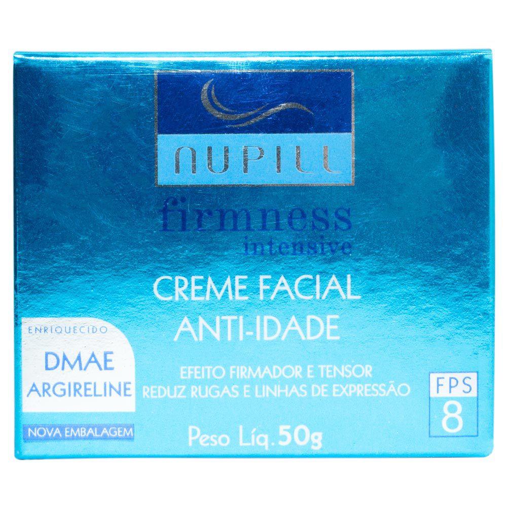 Creme Facial Anti-Idade Nupill Firmness Intensive FPS 8