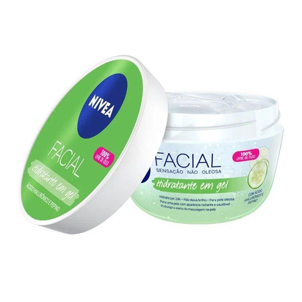 Creme Hidratante Facial em Gel Nivea 100gr