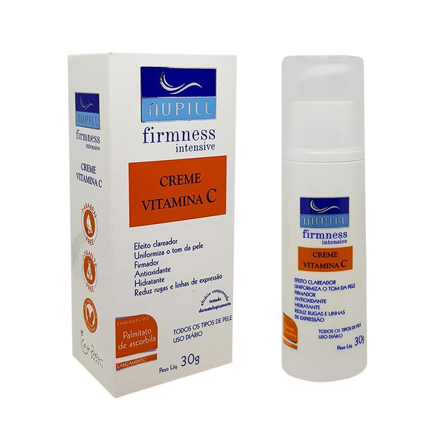 Creme Vitamina C Nupill Firmness Intense
