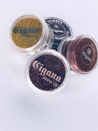 Glitter Cigana Make Up