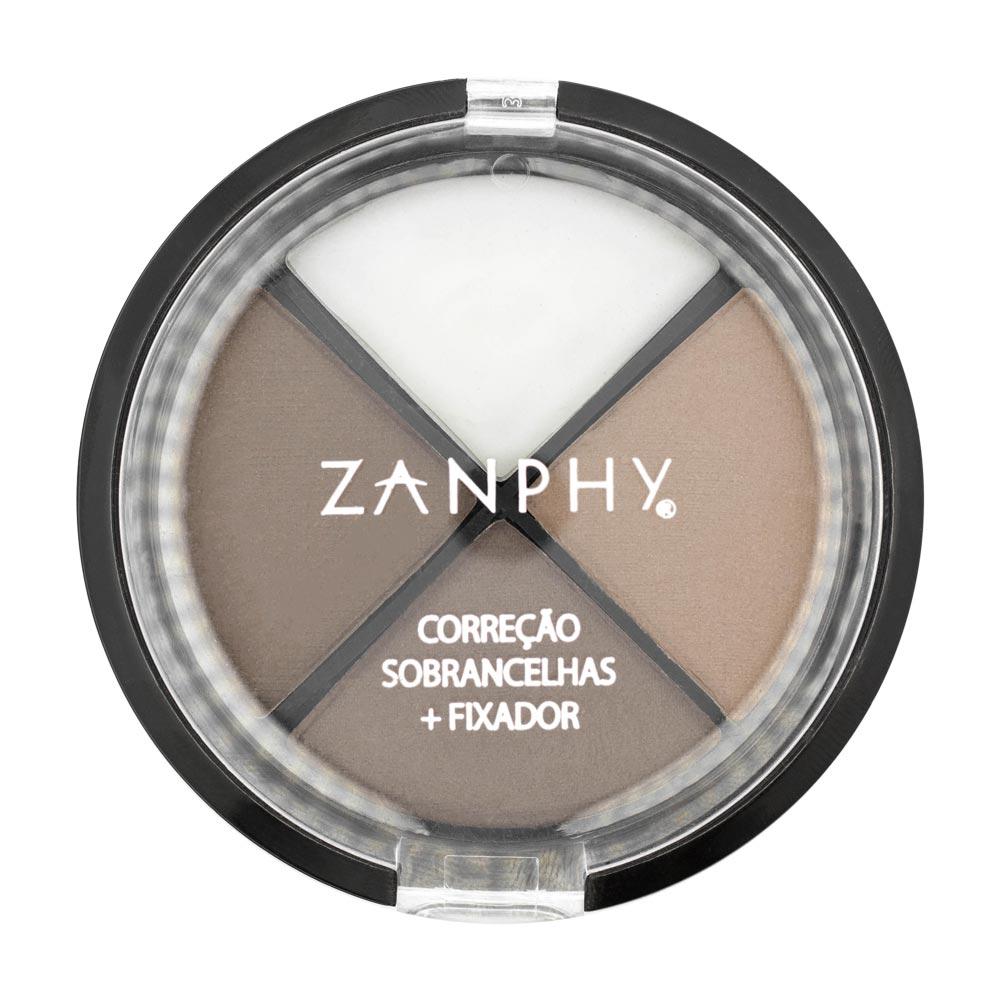 Kit Correção de Sobrancelhas e Fixador Zanphy