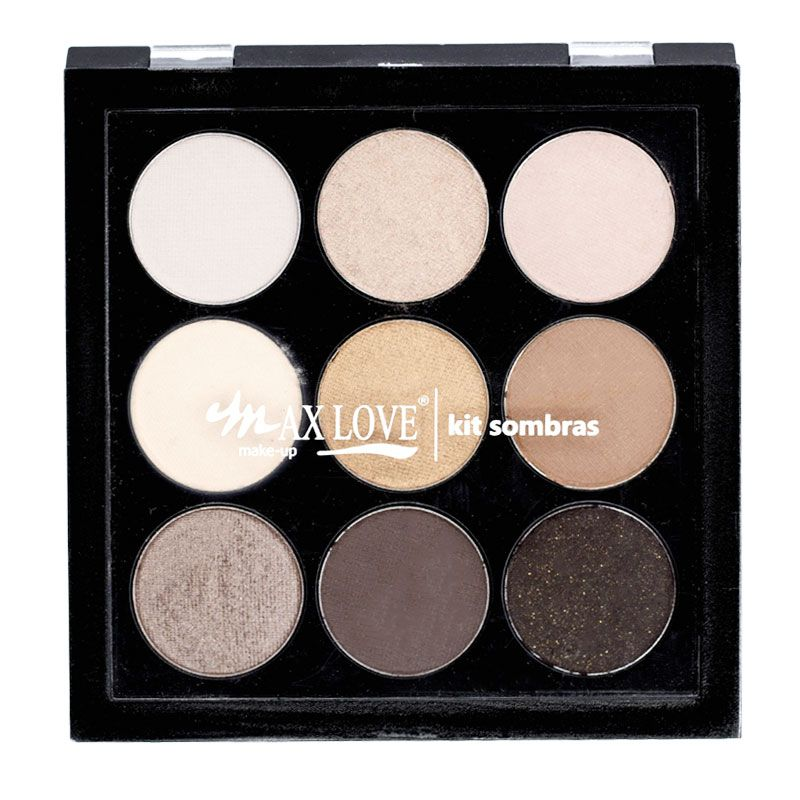 Kit Paleta de Sombra Max Love 01
