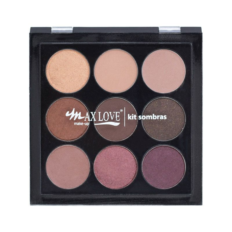 Kit Paleta de Sombra Max Love 02