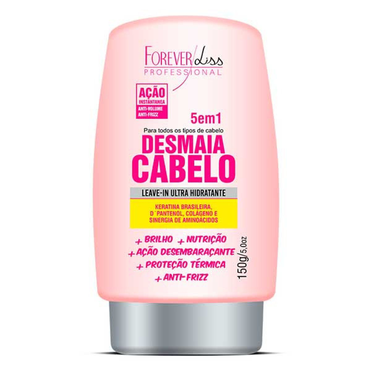Leave-in Ultra Hidratante Forever Liss Desmaia Cabelo